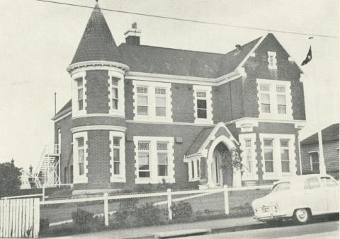 Kew R.S.S. & A.I.L.A. Memorial Clubrooms, 1960