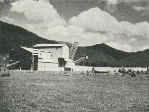 Gold Mining Dredge, Harrietville, 1960