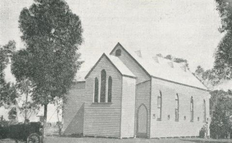 Zion Lutheran Church, Bangerang, 1924