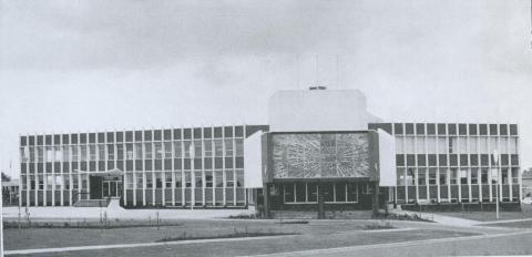 Municipal Office, Sunshine, 1967