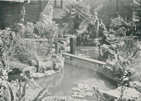Japanese Garden, Residence, Kew, 1925