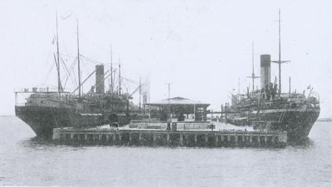 New Railway Pier, 1921