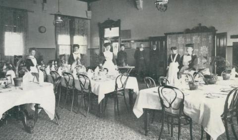 Refreshment Rooms at Maryborough Railway Station