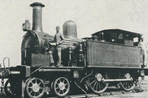 M316, built in 1886 by the Phonenix Foundry Company, Ballarat