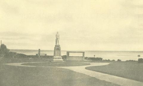 War Memorial, Carrum, 1938