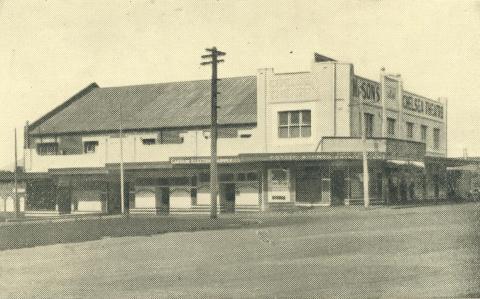 Plaza Theatre, Stanton Street, Chelsea, 1938