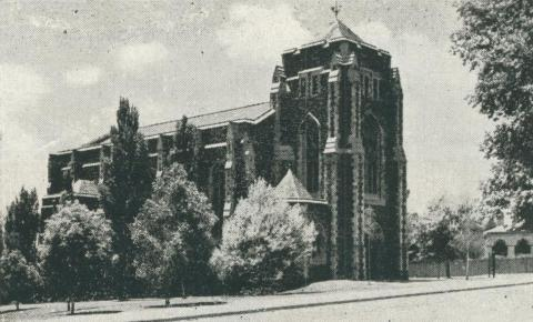 Presbyterian Church, Box Hill, 1956