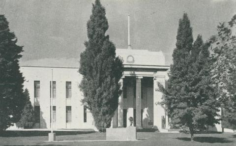 Town Hall, Box Hill, 1956
