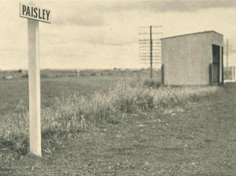 Paisley Railway Station, 1949