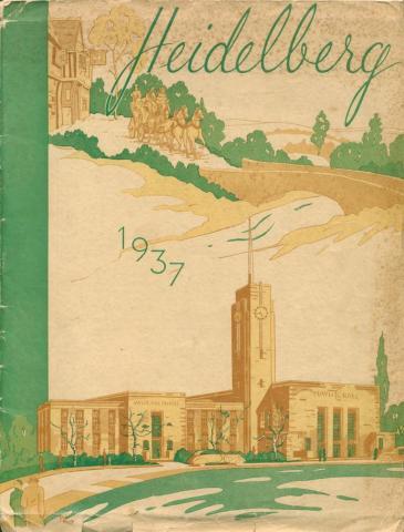 Heidelberg, illustration by Blake Mealy, 1937