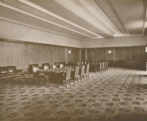 Town Hall, Reception Room, Ivanhoe, 1937