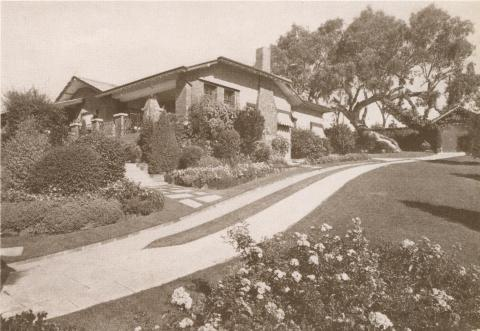 The Boulevard House, Ivanhoe East, 1937