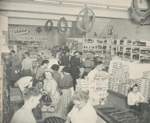 Modern Self Service Store, Hamilton, 1960