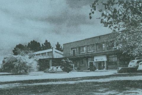 James Miller & Co, linen and thread spinning mill, Warragul, 1957