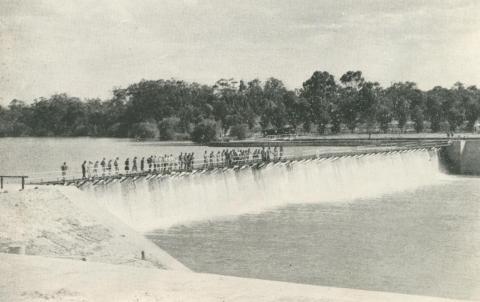 Weir at Torrumbarry, 1950