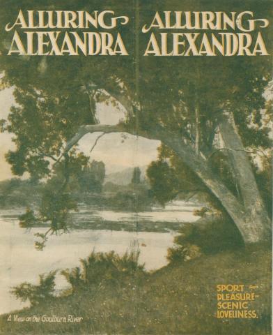 A view of the Goulburn River, Alexandra