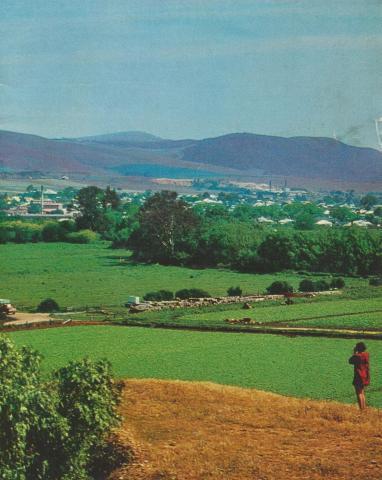 View over Bacchus Marsh, 1968