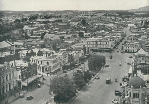 Main Street, Ballarat, 1957