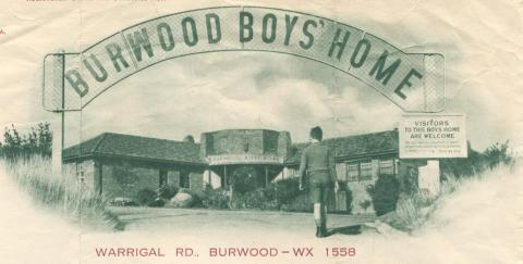 Burwood Boys' Home, 1954
