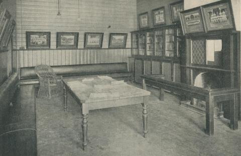 Common Room, Longerenong Agricultural College, Dooen, 1929