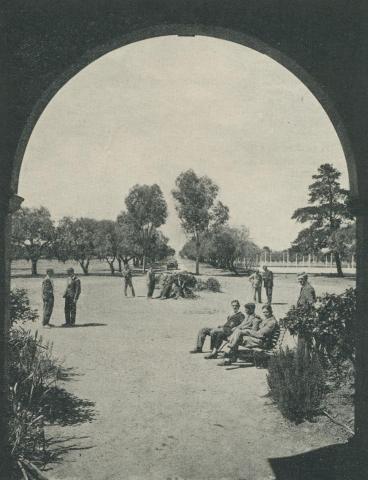 Recreation, Longerenong Agricultural College, Dooen, 1929