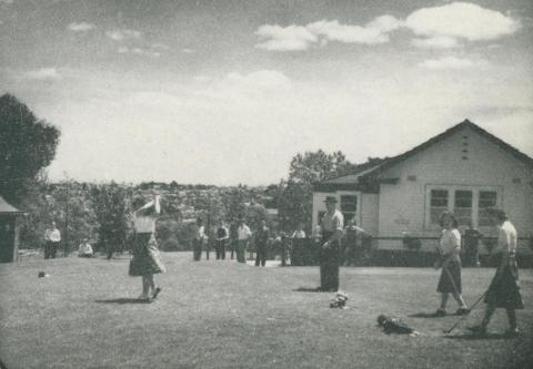 Wattle Park Golf Course, 1947