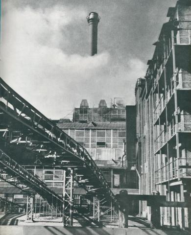 Yallourn briquette works, 1954