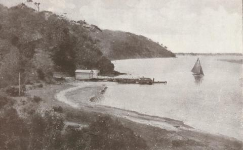 Kalimna Cove and Jetty, 1934