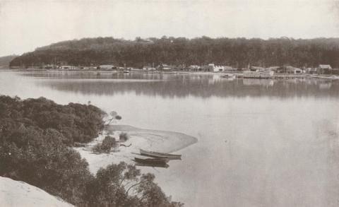 Reeves Lagoon, Lakes Entrance, 1934