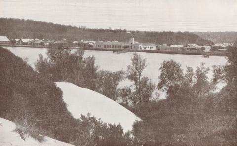 Lakes Entrance taken from Hill 60, 1934