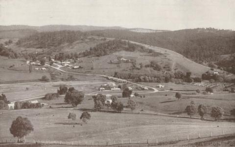 Buchan township from Lookout Hill, 1934