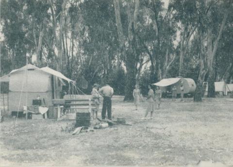 Camping Grounds, Wangaratta, 1951