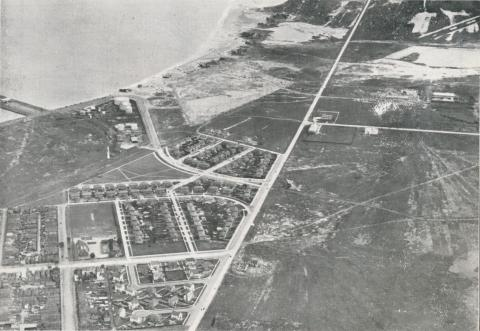 Aerial view of Fishermans Bend, 1939