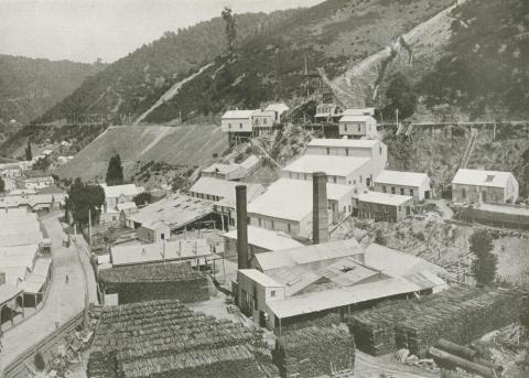 The Long Tunnel Gold Mine, Walhalla, c1910