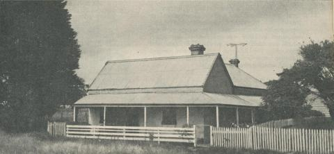 Wellington Road Homestead (built 1849), Waverley, 1961
