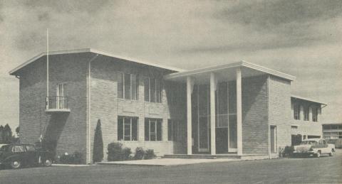 Waverley Municipal Offices, 1961