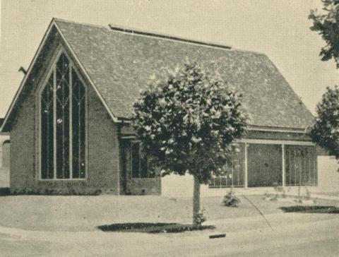 Yallourn Methodist Church, 1961