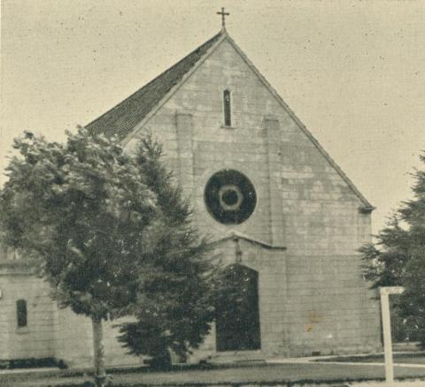 St Therese's Catholic Church, Yallourn, 1961