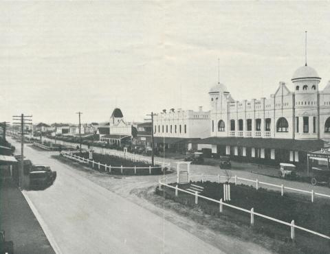 Main Street, Yarram, 1933