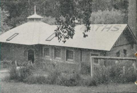 Hepburn Springs Spas and Baths, 1959