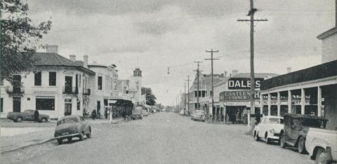 Mollison Street, Kyneton, 1959