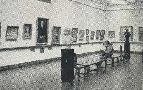 Art Gallery, Castlemaine, 1959