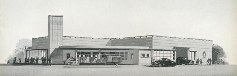 Beaurepaire Tyres, Albury Branch, 1947
