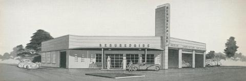 Beaurepaire Tyres, Swan Hill Branch, 1947