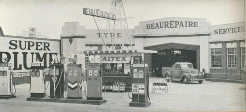Beaurepaire Tyres, Bendigo Branch, 1947