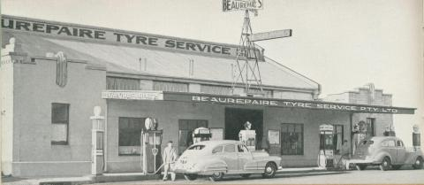 Beaurepaire Tyres, Warrnambool Branch, 1947
