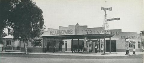 Beaurepaire Tyres, Horsham Branch, 1947
