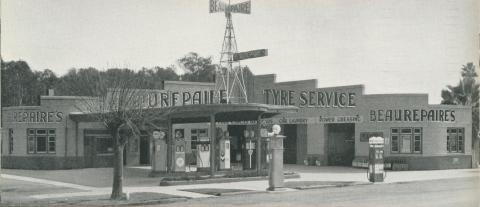 Beaurepaire Tyres, Shepparton Branch, 1947