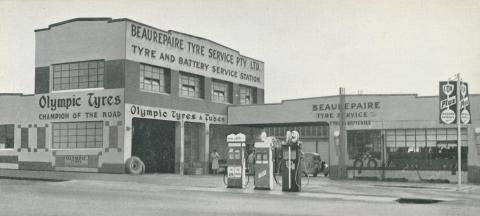 Beaurepaire Tyres, Ballarat Branch, 1947