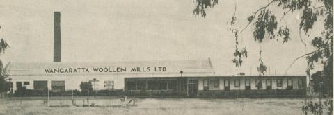 Wangaratta Woollen Mills, 1960